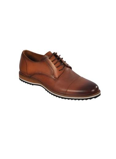 Luciano Bellini E405 Taba Erkek Günlük Hakiki Deri Ayakkabı Taba